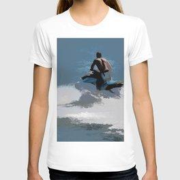 Making Waves - Jet Skier T-shirt