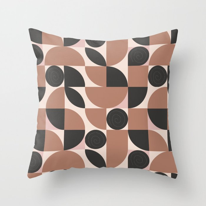 Mosaic Retro Desert Throw Pillow By Mmartabc Society6