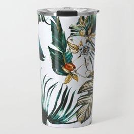 Exotic watercolor nature Travel Mug