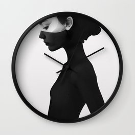 I'm Not Here Wall Clock