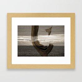 lost wood awakening Framed Art Print