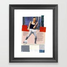 Football Fashion #11 Framed Art Print