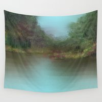 lake Wall Tapestries featuring Lake by Turul