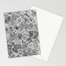 Vintage Postage Stamp Collection - 01 (BxW) Stationery Cards