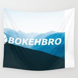 BokehBro Mountains Wall Tapestry