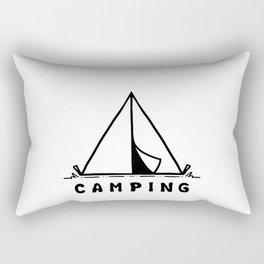 C A M P I N G Rectangular Pillow