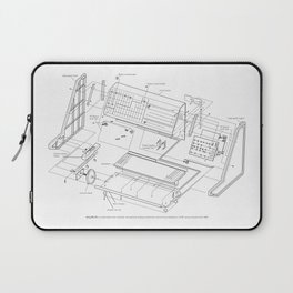 Korg MS-20 - exploded diagram Laptop Sleeve