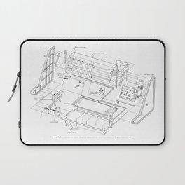 Korg MS-20 - exploded diagram Laptop Sleeve