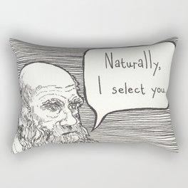 Naturally, I select you Rectangular Pillow