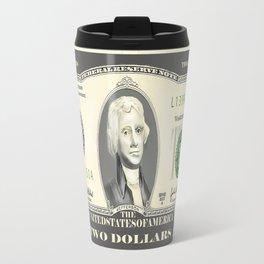 Two Dollar Bill Travel Mug