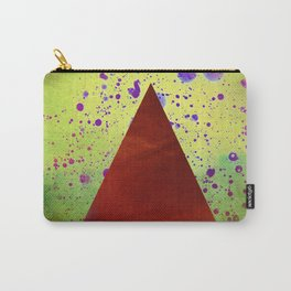 Triangle Composition Carry-All Pouch
