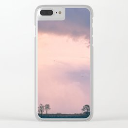 Shine through clouds Clear iPhone Case