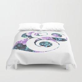 Floral Ampersand Duvet Cover