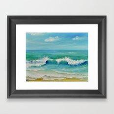 SEASCAPE II Framed Art Print