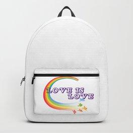 Pride shirt  love is love rainbow unisex tshirt  LGBTQ shirts  gay pride unisex tee Backpack