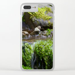 Trickle Clear iPhone Case