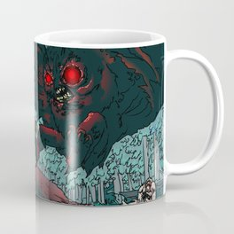 MOTHMAN DIVE BOMBING SASQUATCH Coffee Mug