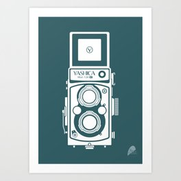Yashica MAT 124G Camera Art Print