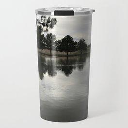 Cloudy Water Travel Mug
