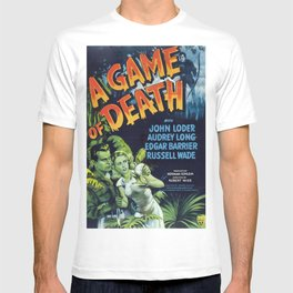 A Game of Death, vintage horror movie poster T-shirt