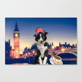 Pulp in London Canvas Print