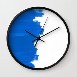 Blue Balance Wall Clock