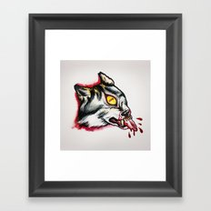 Cyclopes wolf  Framed Art Print