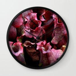 Carnivorous plant #1 Wall Clock