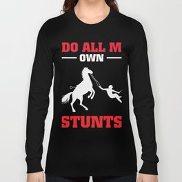 Gift For Horse Lover. Shirt From Dad. Long Sleeve T-shirt