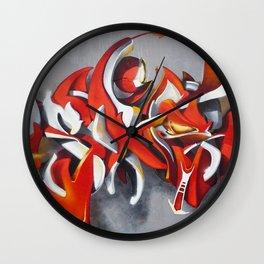 Overline 11 Wall Clock