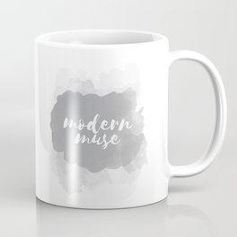 Modern Muse Watercolor Brushstoke Coffee Mug