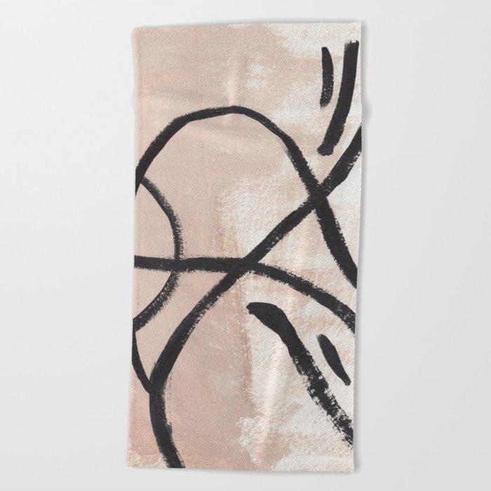 Tan Lines Beach Towel