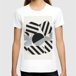 Abstraction_Geometric_SHAPES T-shirt