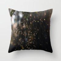 bugs Throw Pillows featuring Bugs by Dora Birgis