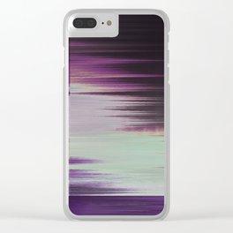 Glytch 11 Clear iPhone Case