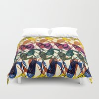 africa Duvet Covers featuring Africa by Kaotiña