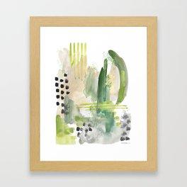 Mossy Design Framed Art Print
