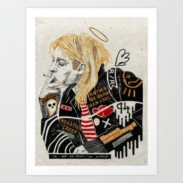 Kurt. Art Print
