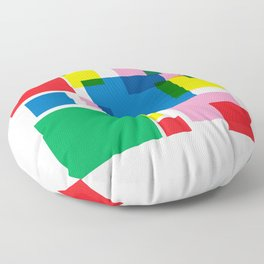 New Year 18 Floor Pillow