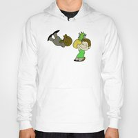 psych Hoodies featuring Psych! by AriesNamarie