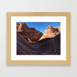 The Wave, Arizona Framed Art Print