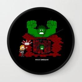 I'm gonna Smash it! Wall Clock