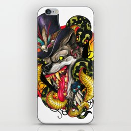Voodoo Wolf Daddy iPhone Skin