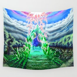 Gate of Hope Wall Tapestry