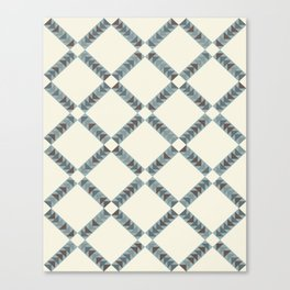 Navajo Winter Pattern Canvas Print