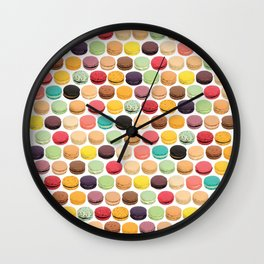 macarons Wall Clock