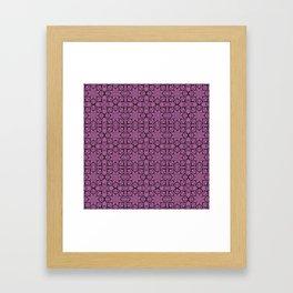 Bodacious Geometric Framed Art Print