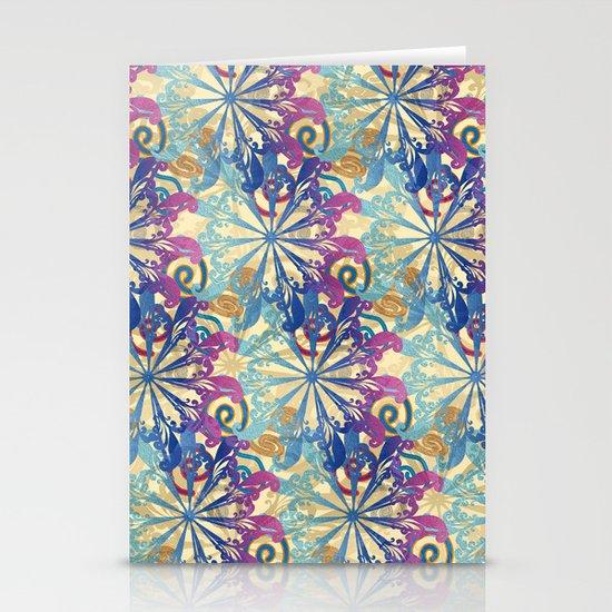 Pattern fantasy Stationery Cards