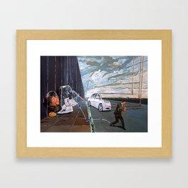 Mirages of lives Framed Art Print