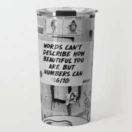London Graffiti Travel Mug